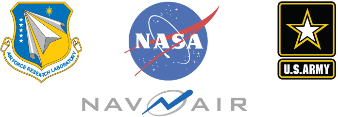 NASA, Army, NAVAIR